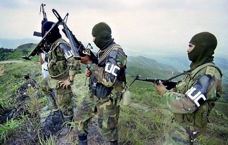 Soldados de las FARC.