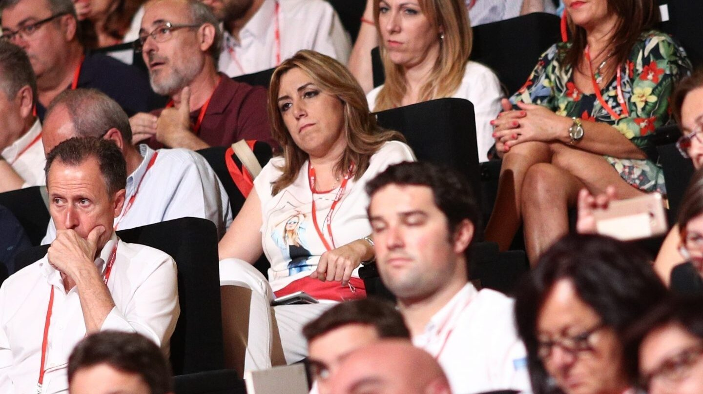 Susana Díaz, en el 39 Congreso del PSOE.