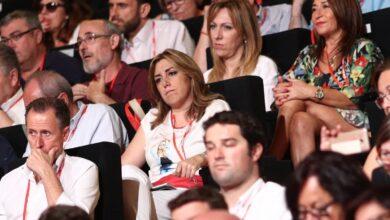 El 'susanismo' da la espalda al congreso de entronización de Pedro Sánchez