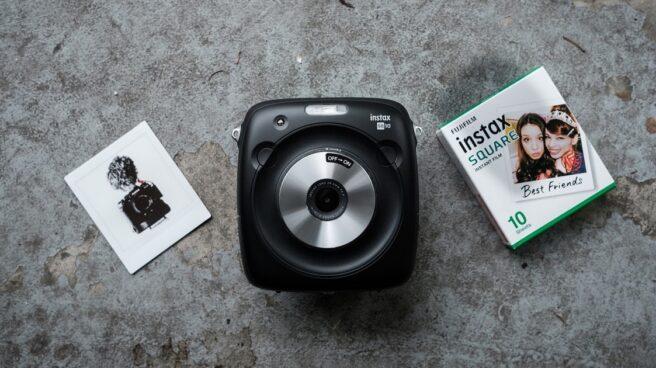 La cámara híbrida de Fujifilm.