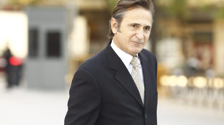 Josep Pujol, dirigiéndose a la Audiencia Naciona.