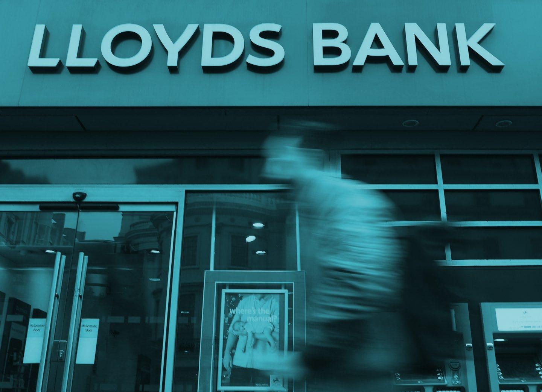 Sucursal de Lloyds, en Londres (Reino Unido).