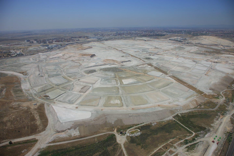 Vista aérea de Los Berrocales, uno de los desarrollo urbanísticos que contempla más de 20.000 viviendas nuevas.