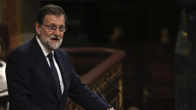 Mariano Rajoy, en la moción de censura.