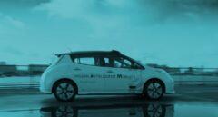 Vehículo autónomo de Nissan.
