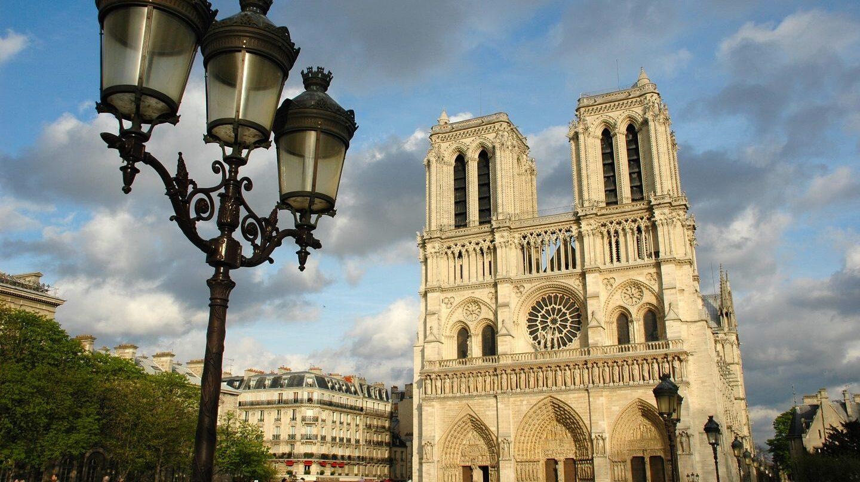 Notre Dame en París.
