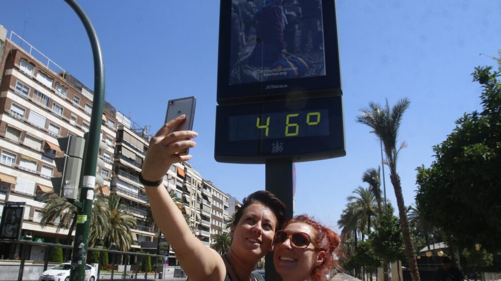 Ola de calor: 46 grados en el centro de Córdoba.