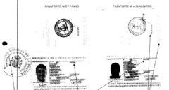 Atestado policial en el que se analizan las irregularidades en los pasaportes de Slaughter y Panko.
