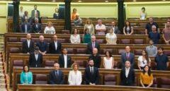 La bancada socialista en el Congreso.