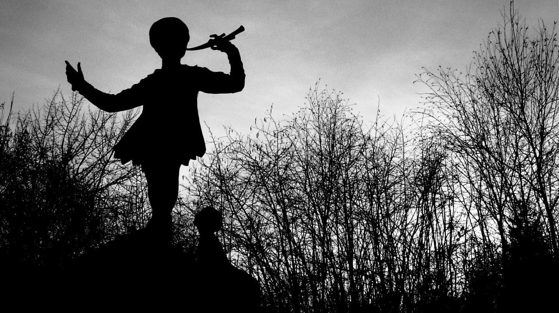 Escultura Peter Pan en Kensington Gardens