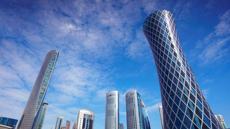 Los rascacielos se han convertido en un símbolo de Doha, capital de Qatar.