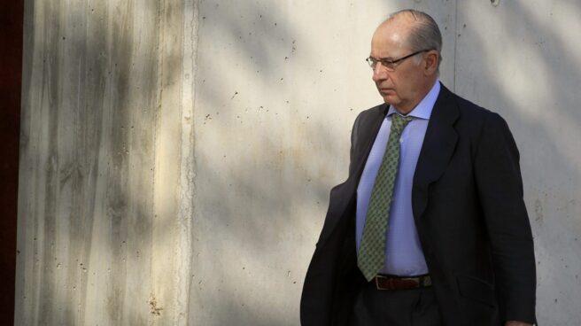 Rodrigo Rato llega a la Audiencia para declarar por Gürtel.