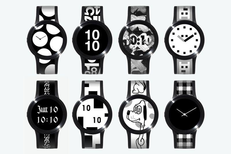 El reloj de Sony que cambia de aspecto.