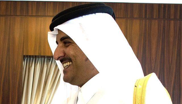 El emir de Qatar, Tamim bin Hamad Al Thani.