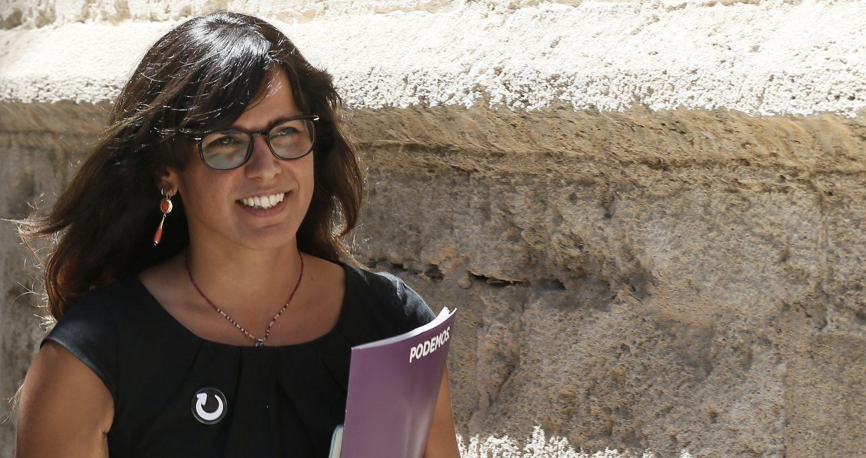 La líder andaluza de Podemos, Teresa Rodríguez.