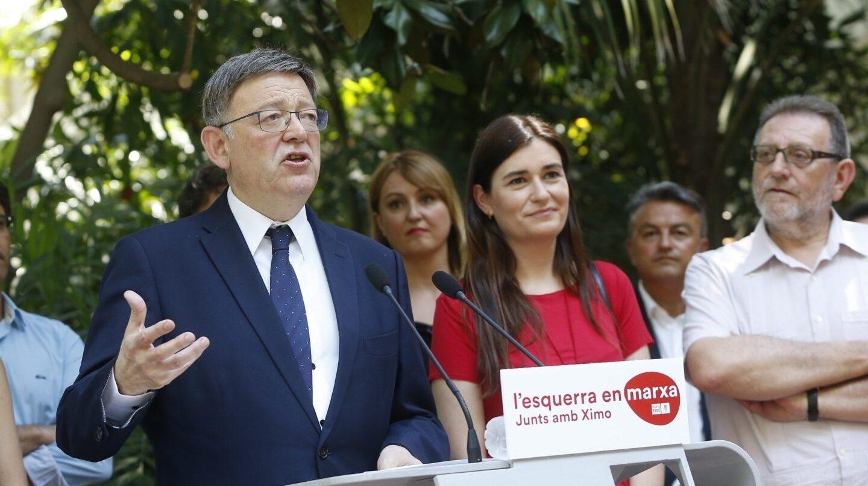 El presidente de la Generalitat Valenciana, Ximo Puig, este lunes.