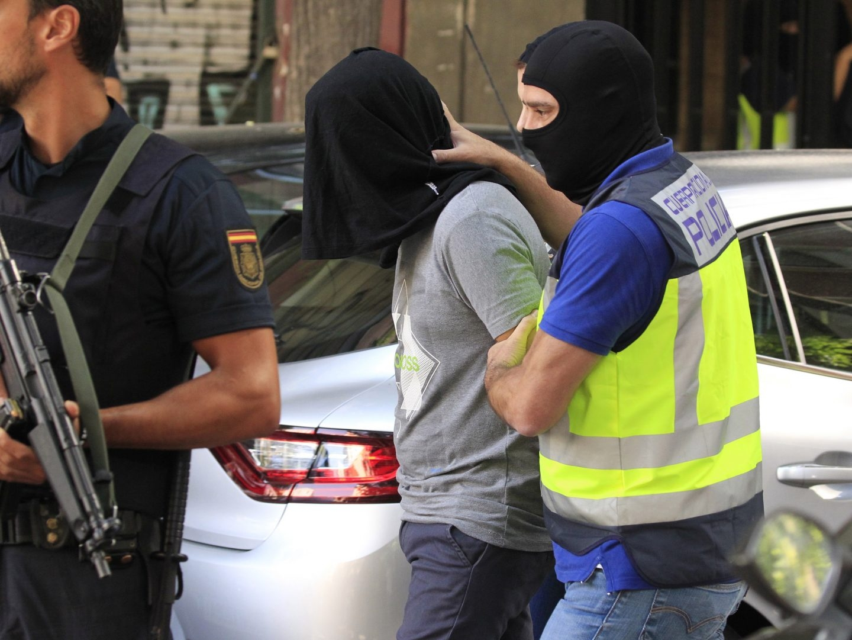 Yihadista detenido en Madrid.
