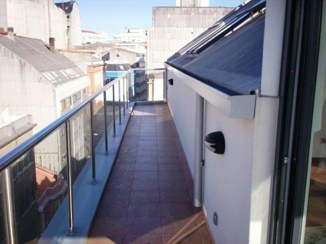 Galería de un piso ofertado en A Coruña.