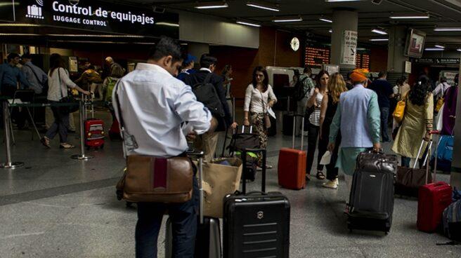 Accesos a la estación de Atocha.