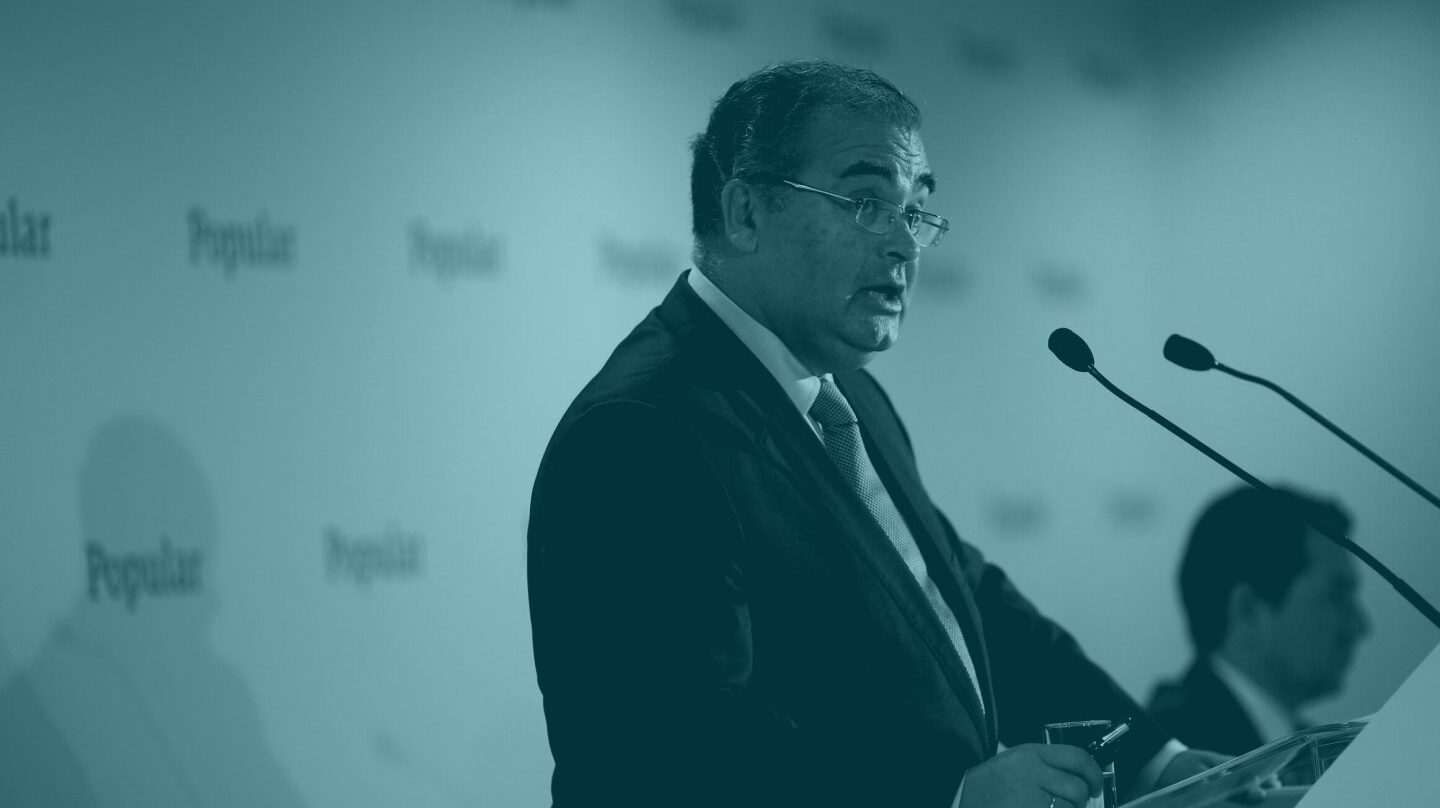 Ángel Ron, ex presidente del Banco Popular.