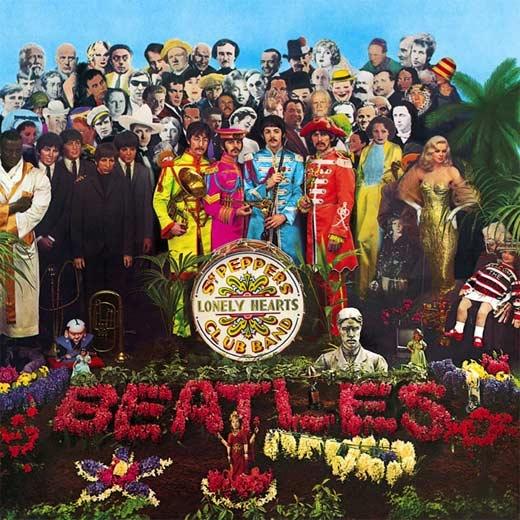 Portada de Sgt. Pepper's.