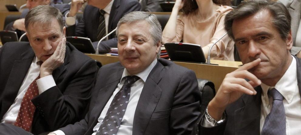 José Blanco y Juan Fernando López Aguilar, eurodiputados del PSOE