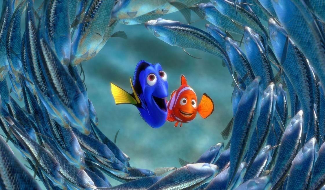 Fotograma de la película 'Buscando a Nemo', una de las preferidas para los niños menores de 12 años según Filmaffinity.