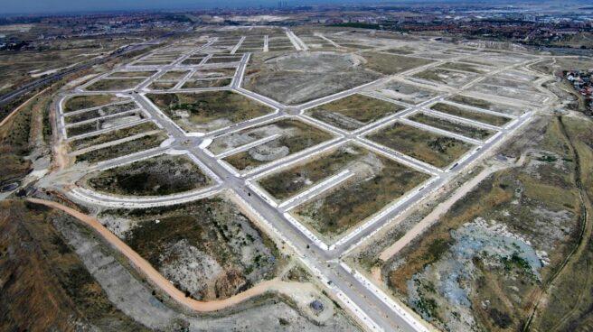 Aspecto que presentaba en 2011 la zona de El Cañaveral, un desarrollo actualmente en ejecución.