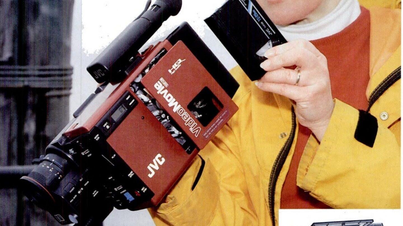 Cámara de cinta compacta VHS