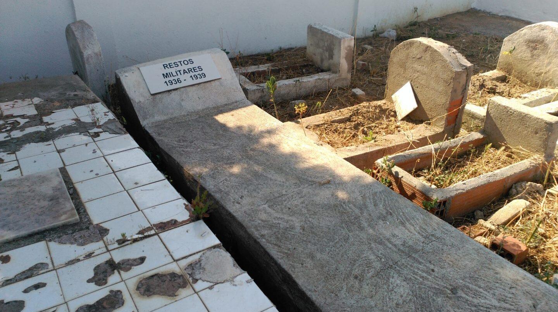 Cementerio musulmán de Griñón, al sur de Madrid.