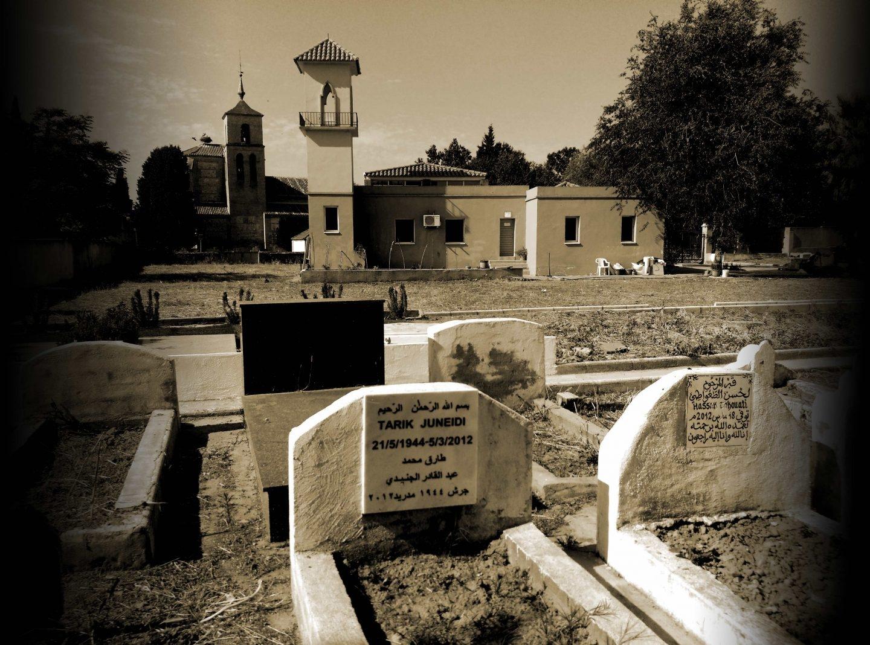 Cementerio militar musulmán de Griñón, al sur de Madrid.