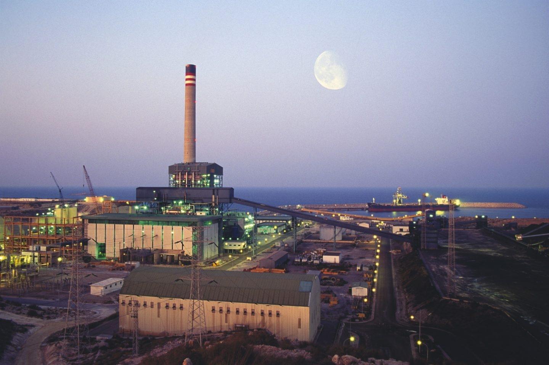 La central térmica de Carboneras, gestionada por Endesa.