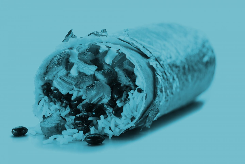 Los burritos son uno de los platos estrella de Chipotle Mexican.