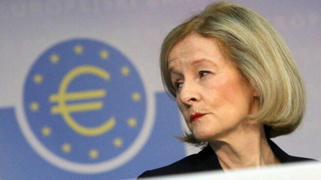 Daniele Nouy, presidenta del Consejo de Supervisión del BCE.