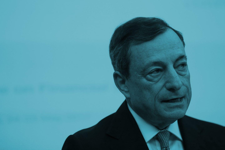 El presidente del Banco Central del Europeo (BCE), Mario Draghi.