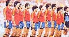 La selección española en el Mundial de Fútbol de 1982.