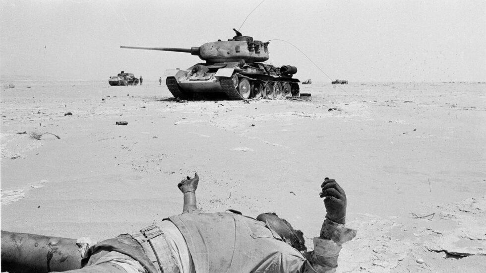 Guerra de los seis días. Tanque en el Sinaí
