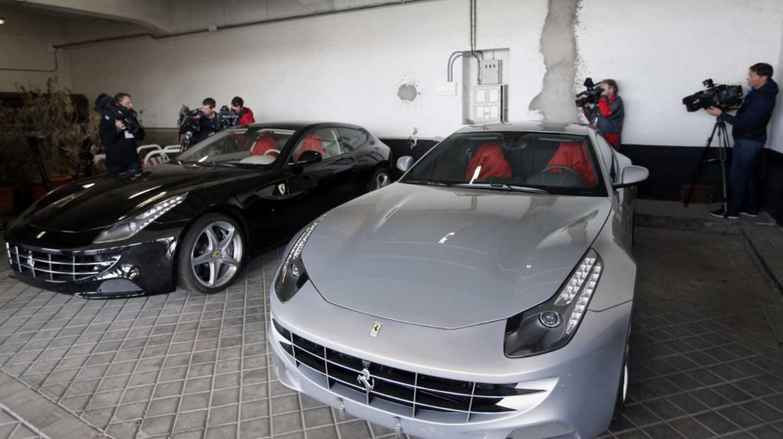 Los Ferrari del rey Juan Carlos.