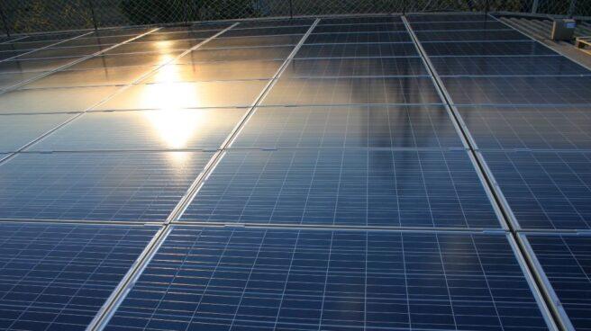 Placas solares fotovoltaicas.