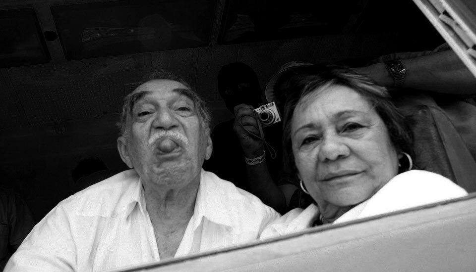 Gabriel García Márquez y su mujer Mercedes Barcha.