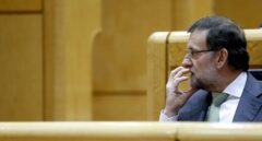 Mariano Rajoy, en el Senado.