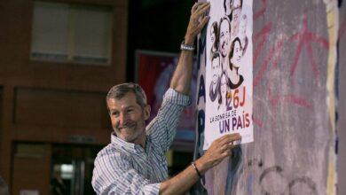 Julio Rodríguez, candidato de Podemos Madrid con un 12% de participación