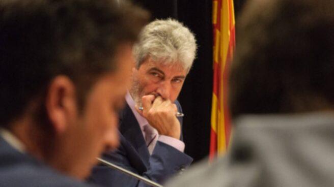 Miguel Lupiañez, alcalde de Blanes.