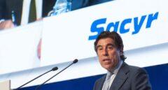 Manuel Manrique, presidente de Sacyr, durante una junta de accionistas en 2016.