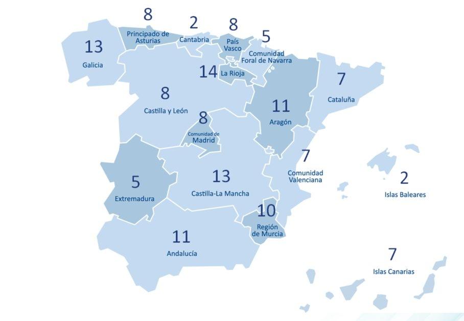 La Rioja, la comunidad con un mayor porcentaje de uso de lentillas. Las que menos, Cantabria e Islas Baleares.