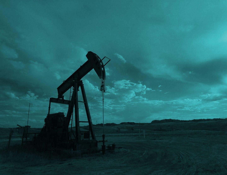 Pozo petrolífero.