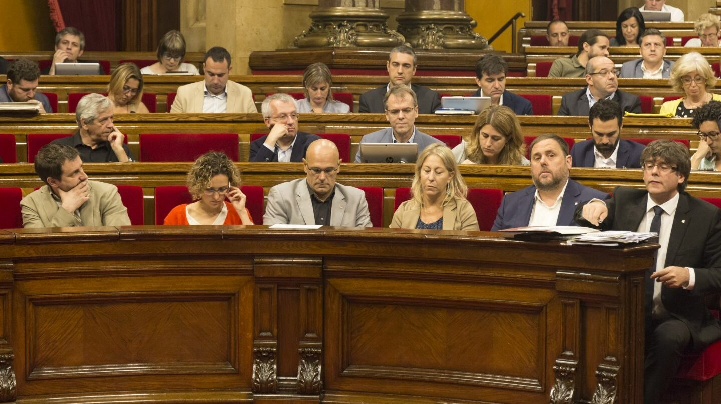 Govern en el Pleno del Parlament