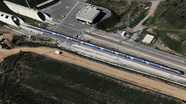 Túnel del Pertús, que conecta via AVE Figueras y Perpiñán y rescatado en diciembre pasado por España y Francia.