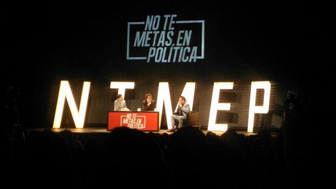 Miguel Maldonado, Facundo Díaz y el humorista Joaquín Reyes.