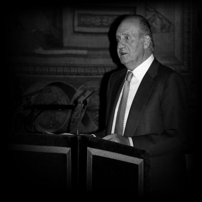 El rey Juan Carlos.